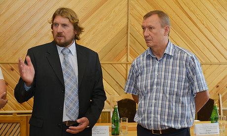 Александр Тюлин и Николай Денин, 2013 год.
