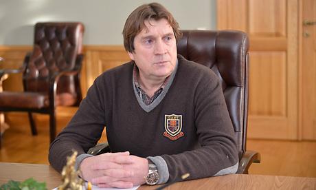 Александр Тюлин у Николая Денина, 2014 год.