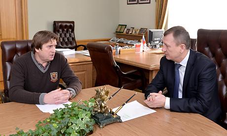 Александр Тюлин и Николай Денин, 2014 год.